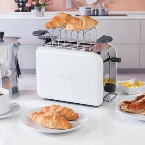 Kenwood TTM020A KMIX Two-Slice Toaster, 900 W, Stainless Steel, Coconut White Thumbnail 5