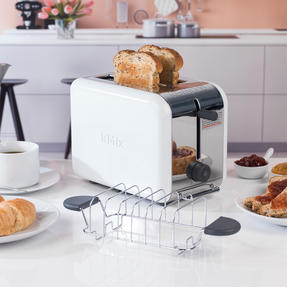 Kenwood TTM020A KMIX Two-Slice Toaster, 900 W, Stainless Steel, Coconut White Thumbnail 6