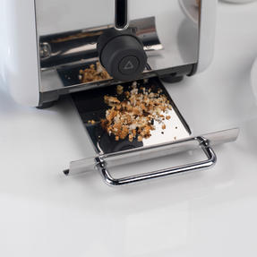 Kenwood TTM020A KMIX Two-Slice Toaster, 900 W, Stainless Steel, Coconut White Thumbnail 7