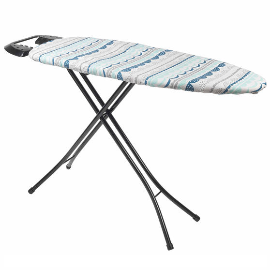 Beldray Small Reversible Ironing Board Replacement Cover, 126 x 47 cm, Zola Teal Thumbnail 1