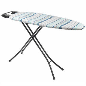 Beldray LABEL58836ZOLA Small Reversible Ironing Board Replacement Cover, 126 x 47 cm, Zola Teal