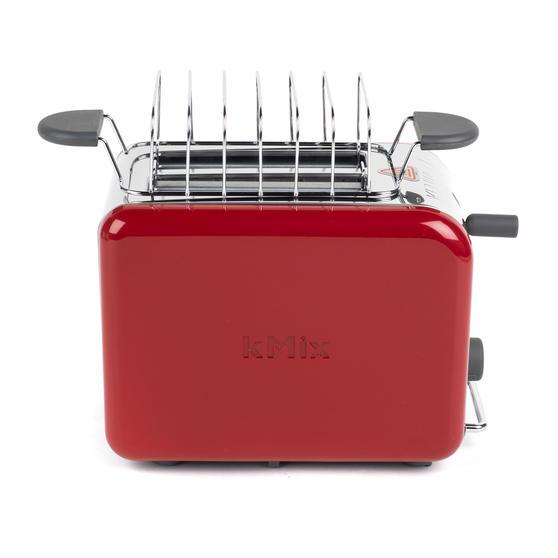 Kenwood TTM021 KMIX Two Slice Toaster, 900 W, Red