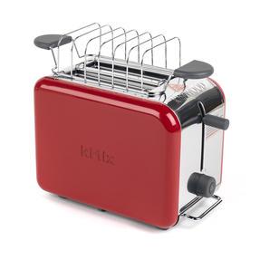 Kenwood TTM021 KMIX Two Slice Toaster, 900 W, Red Thumbnail 2
