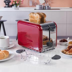 Kenwood TTM021 KMIX Two Slice Toaster, 900 W, Red Thumbnail 6