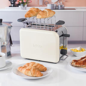 Kenwood TTM022 KMIX Two Slice Toaster, 900 W, Cream Thumbnail 5