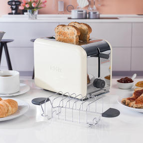 Kenwood TTM022 KMIX Two Slice Toaster, 900 W, Cream Thumbnail 6