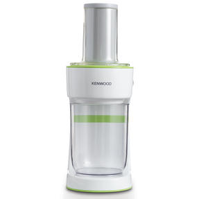 Kenwood FGP200WG Electric Fruit and Vegetable Spiralizer, 0.5 L, 70 W, White/Green Thumbnail 1