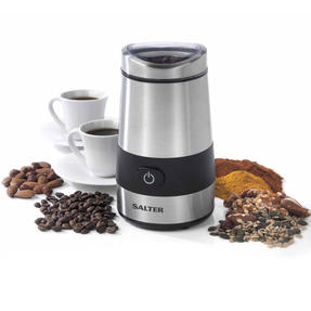 Salter Electric Coffee and Spice Grinder, 60 g, 200 W, Stainless Steel Thumbnail 1