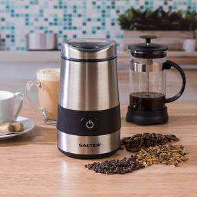 Salter Electric Coffee and Spice Grinder, 60 g, 200 W, Stainless Steel Thumbnail 3