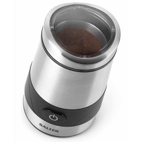 Salter Electric Coffee and Spice Grinder, 60 g, 200 W, Stainless Steel Thumbnail 4