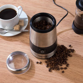 Salter Electric Coffee and Spice Grinder, 60 g, 200 W, Stainless Steel Thumbnail 5