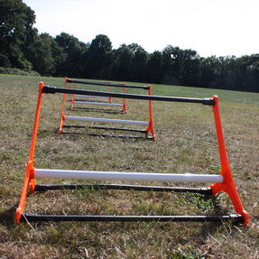 Gorilla Training COMBO-4057 Sports Agility Hurdles with Adjustable Heights, Pack of 10 Thumbnail 2