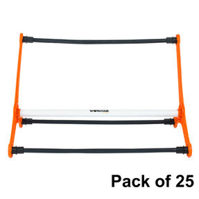 Gorilla Training COMBO-4059 Sports Agility Hurdles with Adjustable Heights, Pack of 25