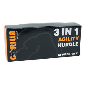 Gorilla Training COMBO-4060 Sports Agility Hurdles with Adjustable Heights, Pack of 50 Thumbnail 9