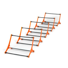 Gorilla Training COMBO-4067 Speed Vision with 5 Hurdles and 9m Speed Ladder, Black/Orange Thumbnail 5