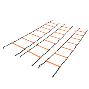 Gorilla Training COMBO-4067 Speed Vision with 5 Hurdles and 9m Speed Ladder, Black/Orange Thumbnail 8