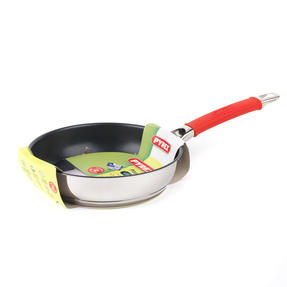Pyrex P500738 Passion Non-Stick Frying Pan, 20 cm, Stainless Steel, Red Thumbnail 2