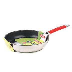 Pyrex P500970 Passion Non-Stick Frying Pan, 26 cm, Stainless Steel, Red Thumbnail 2