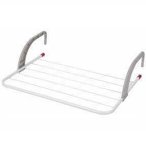 5-Bar Radiator Attachable Airer for Hand Towels or Clothes