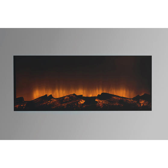 Beldray EH3145MOB Corsica Electric Wall Fire with LED Flame Effects, 900 W / 1800 W