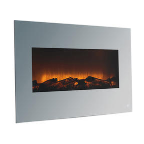 Beldray EH3145MOB Corsica Electric Wall Fire with LED Flame Effects, 900 W / 1800 W Thumbnail 4