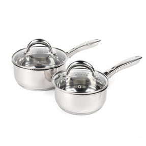 Russell Hobbs COMBO-4040 Optimum Collection Saucepans, 16 / 18 CM, Stainless Steel Thumbnail 1