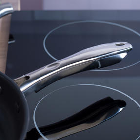 Russell Hobbs COMBO-4042 Optimum Collection Frying Pan and Saucepan Set, Stainless Steel, 6 Piece Thumbnail 8