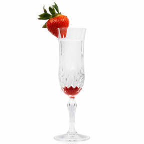 RCR COMBO-4006 Opera Luxion Crystal Champagne Flutes, Set of 12