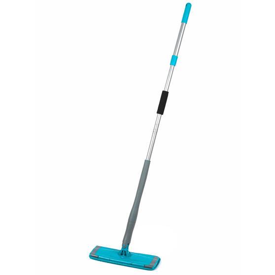 Beldray LA050151EU Easy Twist & Wring Extendable Flat Head Mop, 132 cm, Turquoise