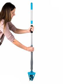Beldray LA050151EU Easy Twist & Wring Extendable Flat Head Mop, 132 cm, Turquoise Thumbnail 3