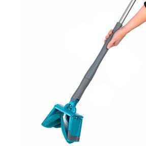 Beldray LA050151EU Easy Twist & Wring Extendable Flat Head Mop, 132 cm, Turquoise Thumbnail 4