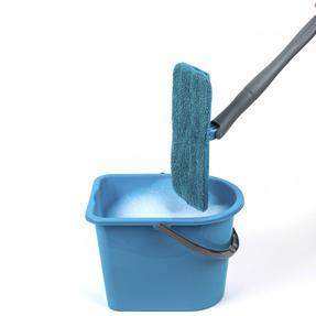 Beldray LA050151EU Easy Twist & Wring Extendable Flat Head Mop, 132 cm, Turquoise Thumbnail 5