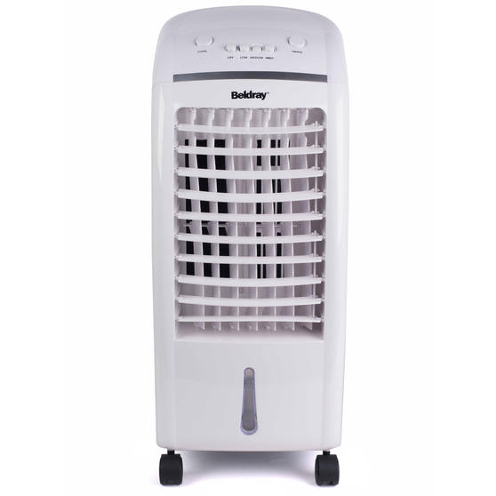 Beldray 6 Litre Air Cooler, 65 W, White/Grey