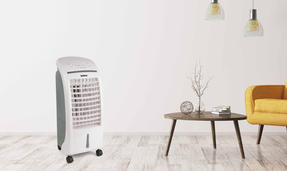 Beldray EH3056STK 6 Litre Air Cooler, 65 W, White/Grey Thumbnail 8
