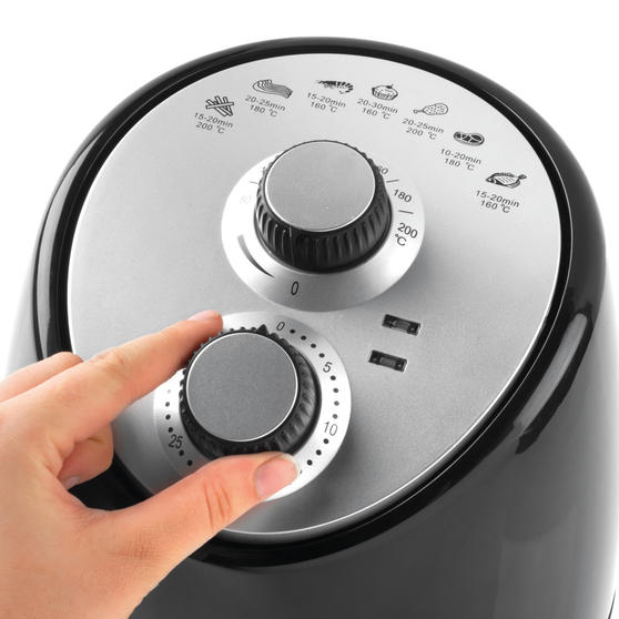 Salter Ek2817 Compact Hot Air Fryer With Removable Frying