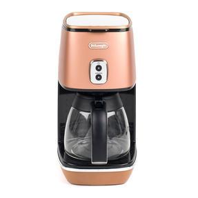 DeLonghi KBICIMI211CP Distinta Filter Coffee Machine, 1.25 L, 1000 W, Matte Metallic Copper Thumbnail 1
