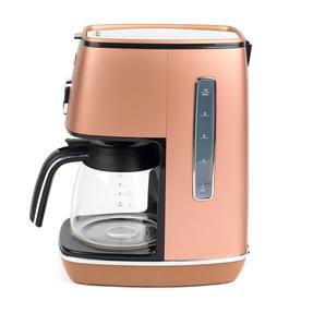 DeLonghi KBICIMI211CP Distinta Filter Coffee Machine, 1.25 L, 1000 W, Matte Metallic Copper Thumbnail 3