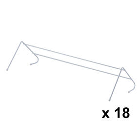 Beldray COMBO-4258 Radiator Clothes Drying Airer, Pack Of 18 Thumbnail 1