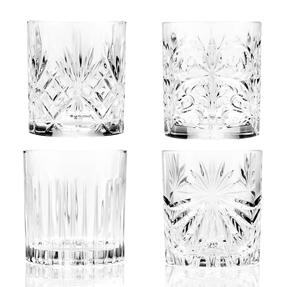 RCR COMBO-4266 Mixology Luxion Crystal Tumbler Whisky Short Glasses, Set of 8 Thumbnail 2