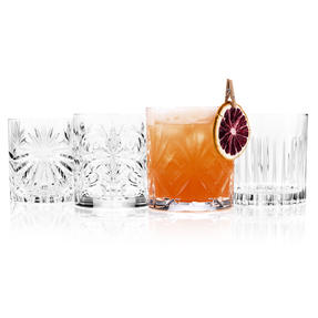 RCR COMBO-4266 Mixology Luxion Crystal Tumbler Whisky Short Glasses, Set of 8 Thumbnail 4