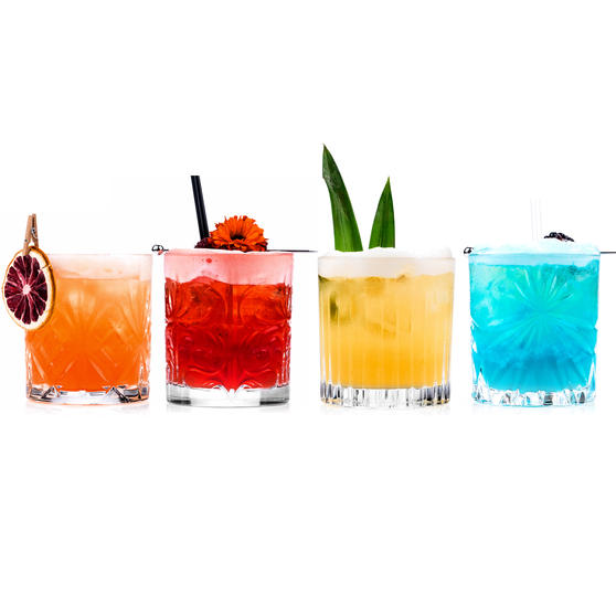 RCR COMBO-4268 Mixology Luxion Crystal Tumbler Whisky Short Glasses, Set of 20