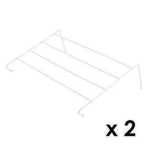 Beldray COMBO-4331 Four Bar Radiator Attachable Airer, Set of 2
