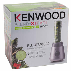 Kenwood SMP060 Blend Xtract Sport Smoothie Maker With Detachable Blades, 0.6 L, 300 W, Silver Thumbnail 12
