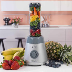 Kenwood SMP060 Blend Xtract Sport Smoothie Maker With Detachable Blades, 0.6 L, 300 W, Silver Thumbnail 7