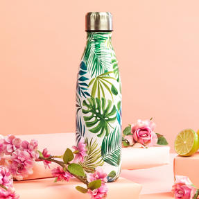 Cambridge CM06512 Polynesia Thermal Insulated Flask Bottle, 500 ml, Stainless Steel Thumbnail 4