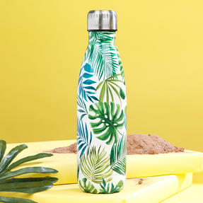 Cambridge CM06512 Polynesia Thermal Insulated Flask Bottle, 500 ml, Stainless Steel Thumbnail 3