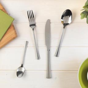 Salter COMBO-2047 Elegance Buxton 32 Piece Cutlery Set, Stainless Steel, 15 Year Guarantee Thumbnail 4