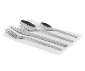 Russell Hobbs COMBO-2046 Deluxe Vermont 32 Piece Cutlery Set, Stainless Steel, 15 Year Guarantee Thumbnail 2