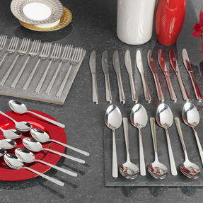 Russell Hobbs COMBO-2150 Deluxe Vienna Stainless Steel 32 Piece Cutlery Set, 15 Year Guarantee Thumbnail 2