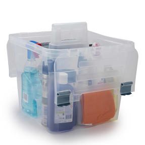 Beldray COMBO-4074 Caravan Accessories Storage Caddy with Dish Brushes and Microfibre Cloths Thumbnail 3